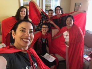 Wonder Women of Lean In Extension Retreat